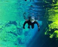 Wetsuit snorkeling