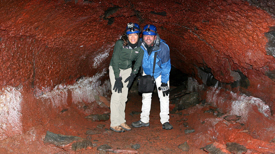 Caving Tour in Iceland