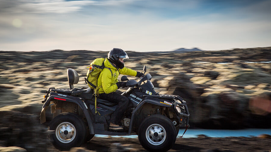 ATV / Quad riding in Iceland