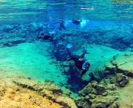 Snorkeling Silfra Iceland
