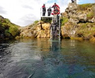 Snorkeling tour in Iceland