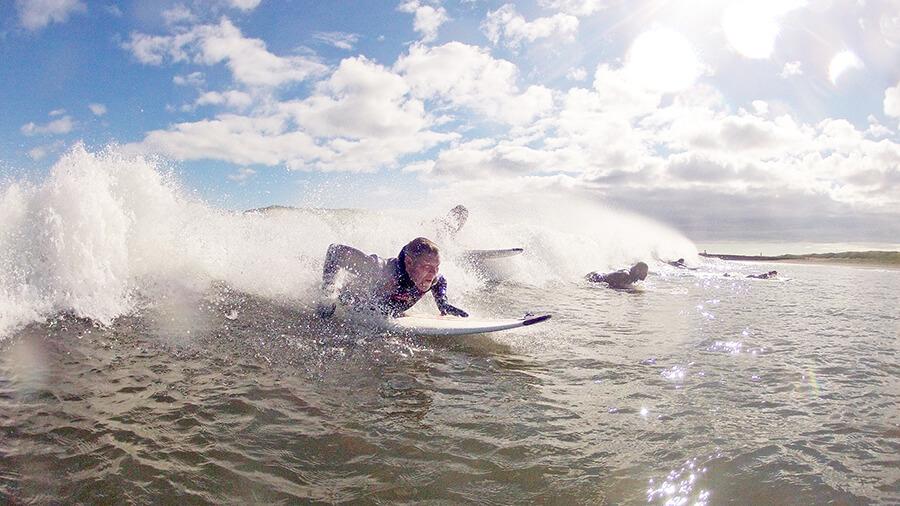 Surfing in Iceland surf rental