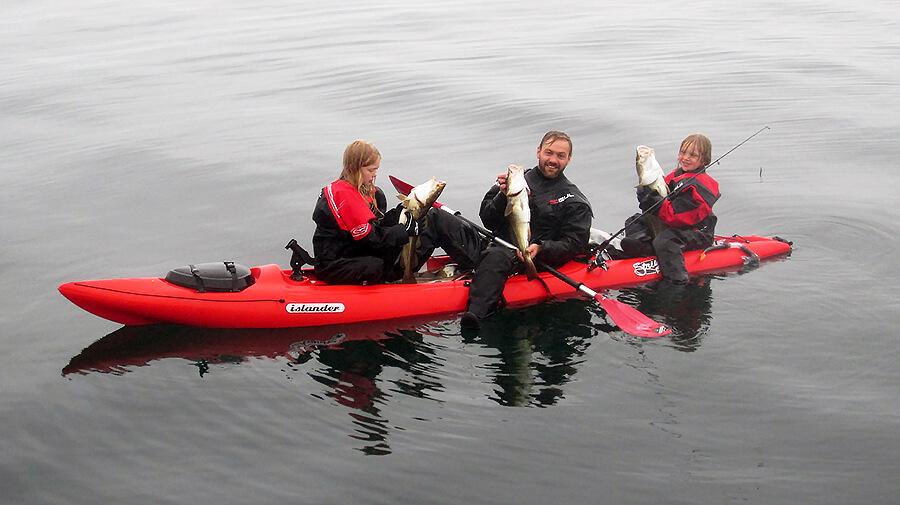 Kayaking and Fishing Tour in Iceland