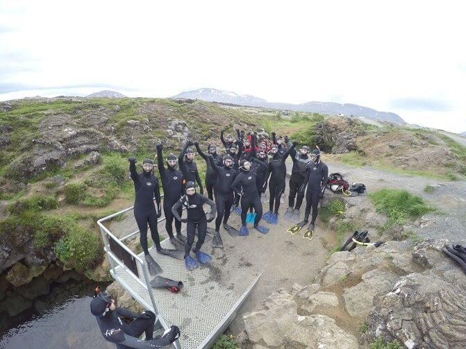 Nice Japanese Blog about Snorkeling in Silfra by Isabella Price