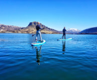 SUP INTO THE FJORD