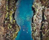 Snorkeling between continents